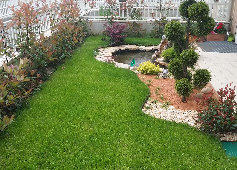 Cool aiuola dopo with foto aiuole - Idee per aiuole giardino ...